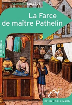 Livres Couvertures de La Farce de maître Pathelin