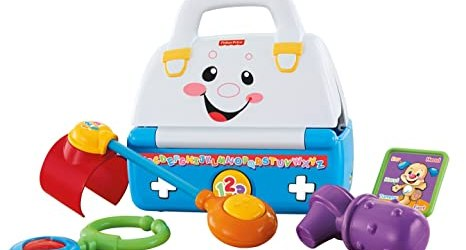 Fisher Price Laugh and Learn Sing a Song Med Kit, Multi Color