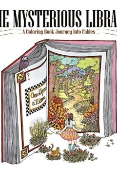 Livres Couvertures de The Mysterious Library: A Coloring Book Journey into Fables