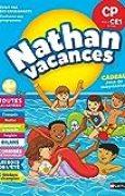 Cahier de Vacances 2018 du CP vers le CE1 - toutes les matières - Nathan Vacances - 6/7 ANS