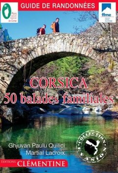 Livres Couvertures de Corsica : 50 balades familiales