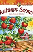 Autumn Scenes Coloring Book