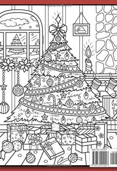 Livres Couvertures de Christmas Coloring Book: An Adult Coloring Book with Fun, Easy, and Relaxing Coloring Pages (Volume 2)