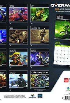 Livres Couvertures de Overwatch 2019 Calendar