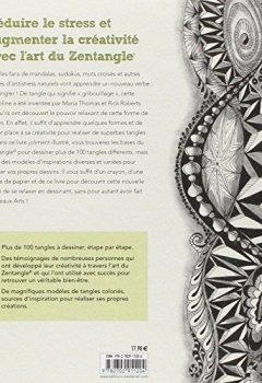 Livres Couvertures de Zentangle : Gribouiller pour rester zen