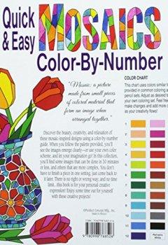 Livres Couvertures de Quick & Easy Mosaics Color-by-Number