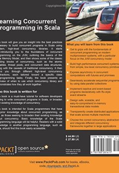 Livres Couvertures de Learning Concurrent Programming in Scala
