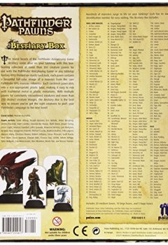 Livres Couvertures de Pathfinder Pawns: Bestiary Box