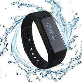 MAOZUA-Smart-Wristband-Bluetooth-40-with-Fitness-Monitor-for-Apple-iPhone-6s-iPhone-6-Plus-Samsung-iOS-Android-SystemTrack-Caller-ID-Display