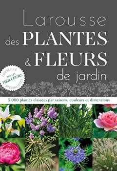 Livres Couvertures de Larousse des plantes et fleurs de jardin