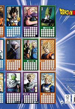 Livres Couvertures de Dragon Ball Z Official 2018 Calendar - Square Wall Format