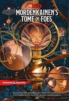 Livres Couvertures de D&D MORDENKAINEN'S TOME OF FOES