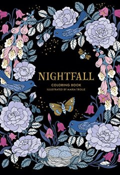 Livres Couvertures de Nightfall Coloring Book: Originally Published in Sweden As Skymningstimman