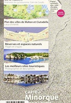 Livres Couvertures de MINORQUE, RESERVE DE LA BIOSPHERE  1/50.000