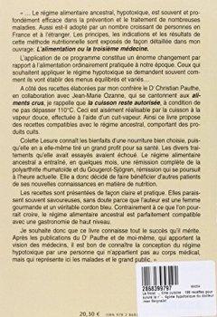 Livres Couvertures de La troisième cuisine : 198 recettes pour suivre le régime hypotoxique du docteur Jean Seignalet