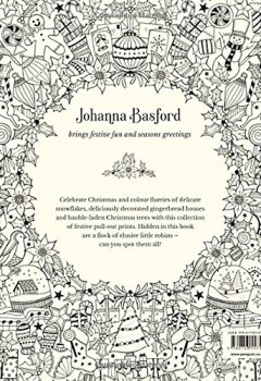 Livres Couvertures de Johanna's Christmas: A Festive Colouring Book