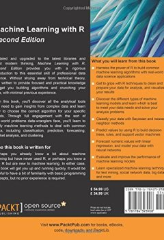 Livres Couvertures de Machine Learning with R - Second Edition