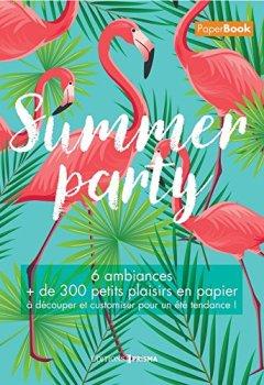 Livres Couvertures de Summer party - Mon livre d'été
