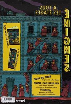 Livres Couvertures de Enigmes à tous les étages
