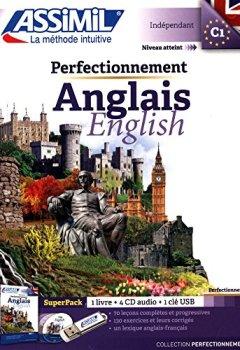 Livres Couvertures de Perfectionnement Anglais (superpack USB: livre+CD mp3+clé USB)