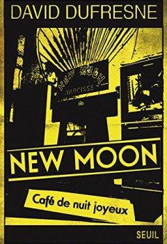 Livres Couvertures de New Moon - Café de nuit joyeux