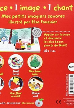 Livres Couvertures de Mes chants de Noël: 6 chants à écouter, 6 images à regarder