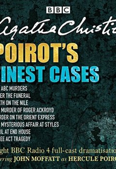 Livres Couvertures de Poirot's Finest Cases: Eight Full-Cast BBC Radio Dramatisations