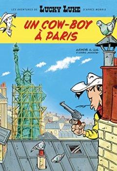Livres Couvertures de Les nouvelles aventures de Lucky Luke d'après Morris - Tome 8 - Un cowboy à Paris