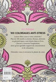Livres Couvertures de Art-thérapie : 100 coloriages anti-stress