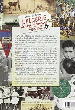 Livres Couvertures de L'Algérie de ma mémoire