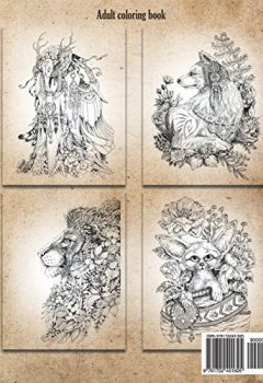 Livres Couvertures de Vintage Classic Coloring Pages: Adult Coloring Book (Relaxing coloring pages, Stress Relieving Designs, People, Animals, Flowers, Fairies and More)
