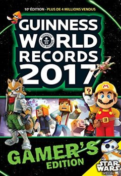 Livres Couvertures de Guinness World Records Gamers 2017