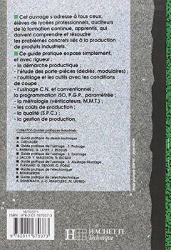 Livres Couvertures de Guide pratique de la productique. Elève