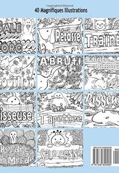 Livres Couvertures de ANTI-STRESS Livre De Coloriage Pour Adultes Avec Gros Mots, Insultes Et Jurons: Animaux, Fleurs Et Injures