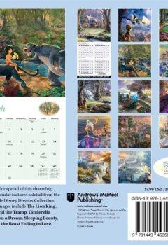 Livres Couvertures de Thomas Kinkade: The Disney Dreams Collection 2015 Mini Wall Calendar