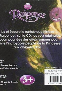Livres Couvertures de Raiponce, MON PETIT LIVRE CD