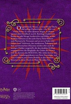 Buchdeckel von J. K. Rowlings magische Welt: Wizarding World™: Die dunklen Künste: Das Handbuch zu den Filmen