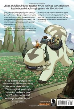 Livres Couvertures de Avatar: The Last Airbender - The Promise Library Edition.