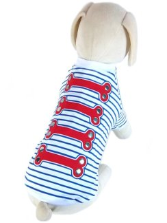 Dog T-shirts: UP Collection The Nautical Look