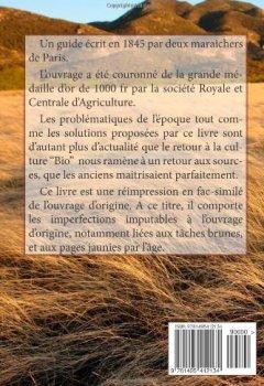 Livres Couvertures de Manuel Pratique de La Culture Maraichere de Paris