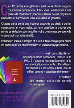 Livres Couvertures de Les portes de l'éveil : 42 pas vers soi. Avec un jeu de 42 cartes miroirs