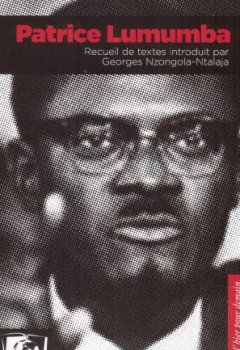 Livres Couvertures de Patrice Lumumba