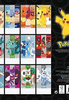 Livres Couvertures de Pokemon Official 2019 Calendar - Square Wall Calendar Format