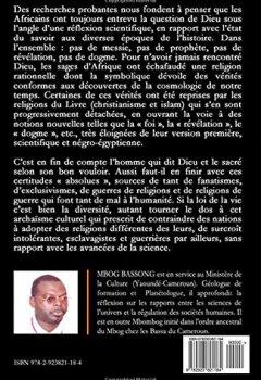 Livres Couvertures de La Religion Africaine: De la cosmologie quantique à la symbolique de Dieu