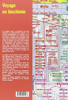 Livres Couvertures de Voyage en biochimie