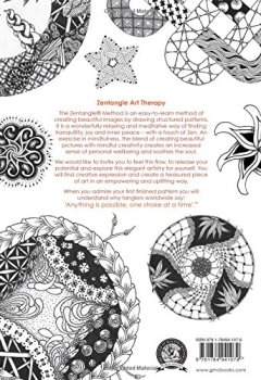 Livres Couvertures de Zentangle Art Therapy