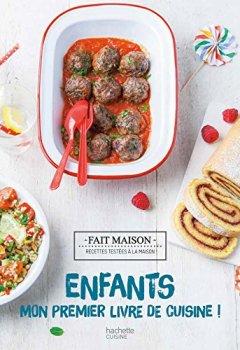Livres Couvertures de Enfants : mon premier livre de cuisine