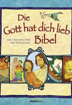Buchdeckel von Die Gott hat dich lieb Bibel