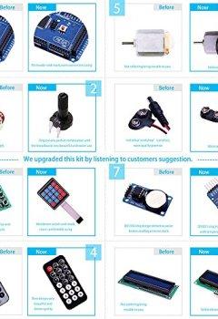 Livres Couvertures de Elegoo MEGA 2560 Kit De Démarrage Le Plus Complet Mode D'emploi Avec Guide D'utilisation Français Pour Arduino MEGA2560 R3