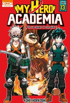 Livres Couvertures de My Hero Academia T13 (13)